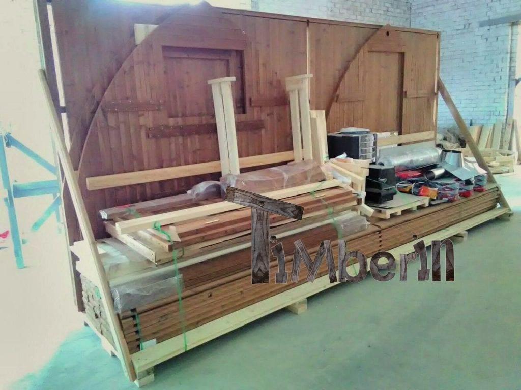 Bain Nordique Ou Sauna Emballage Pour Le Transport