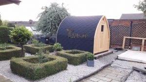 Outdoor Sauna Igloo, Philip Higgins, Nottingham, UK (1)