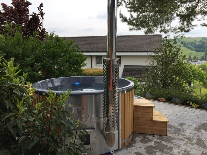 Bain Nordique En Thermo Bois Wellness Royal