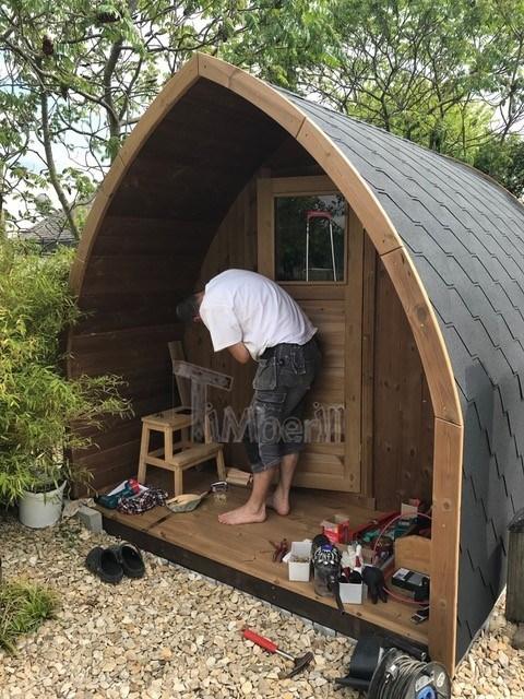Igloo Sauna Extérieur