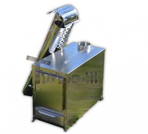 Poêle en acier inoxydable pour piscines [Modèle rectangulaire]