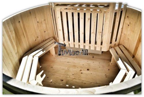 Bain nordique jacuzzi en bois en kit pas cher