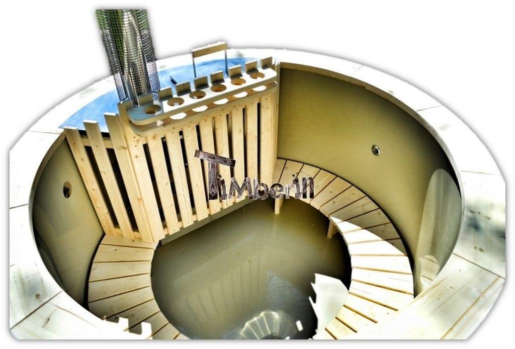 bain scandinave spa ext rieur 2 led filtration timberin. Black Bedroom Furniture Sets. Home Design Ideas