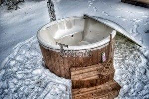modèle d'hiver de bain nordique en fibre de verre (3)