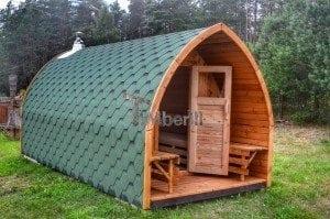 Iglu Saunas Extérieur - TimberIN (1)