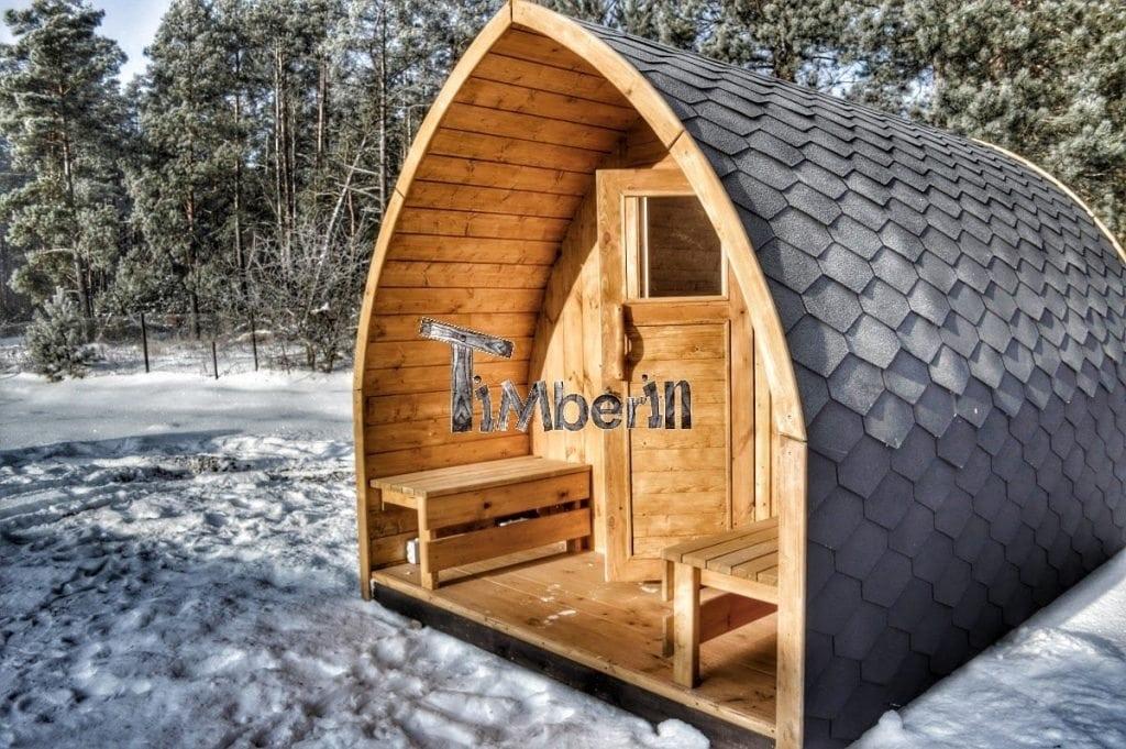 jardin ext rieur sauna en bois igloo avec des po les harvia officiels. Black Bedroom Furniture Sets. Home Design Ideas
