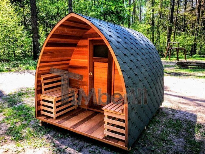 sauna finlandais exterieur