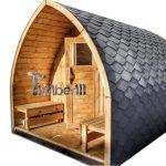 sauna de jardin en bois Igloo