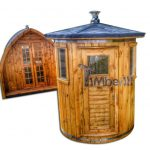 achat sauna ext rieur tonneau finlandais en bois. Black Bedroom Furniture Sets. Home Design Ideas