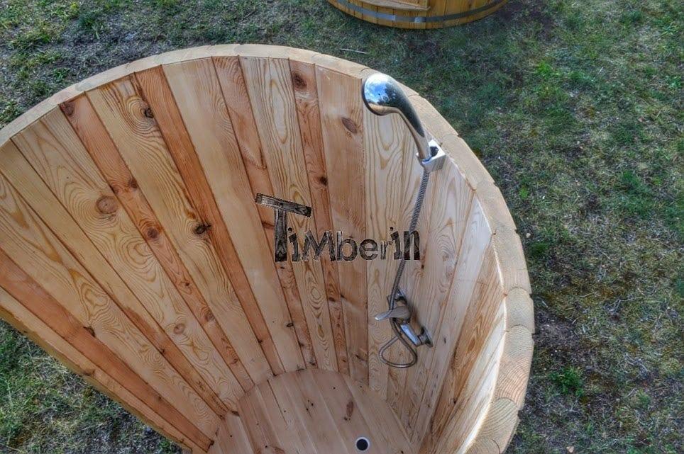 Douche En Bois Interieur : Wooden Outdoor Shower