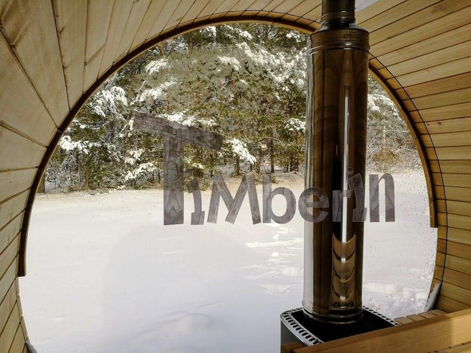 Sauna Exterieur Poele Bois  Maison Design  HosnyaCom