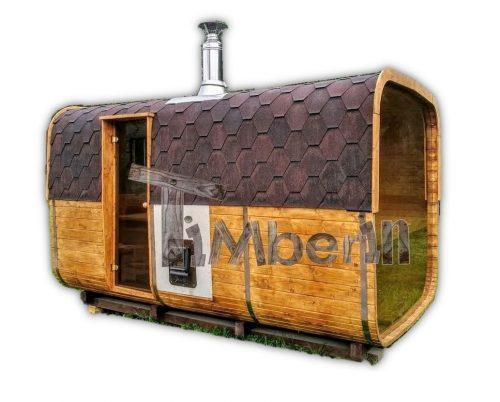 Saunas Extérieur Rectangulaire TimberIN