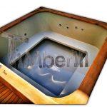 Bain nordique en polypropylene rectangulaire Micro piscine