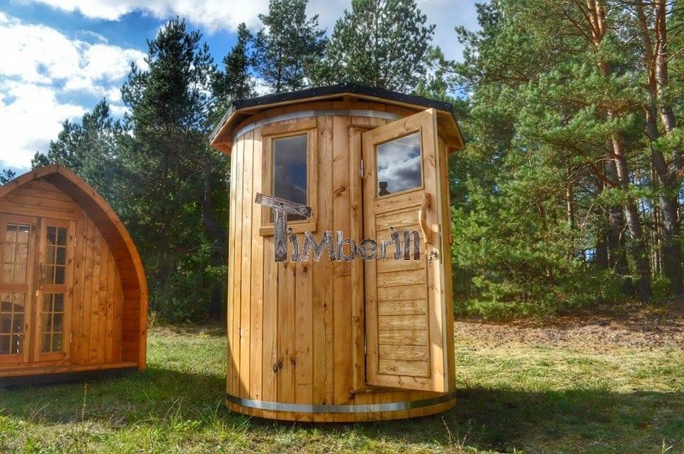 sauna ext rieur pour un espace de jardin limit timberin. Black Bedroom Furniture Sets. Home Design Ideas