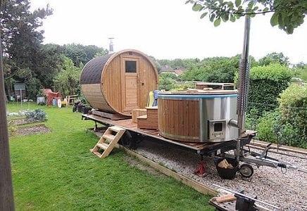 construire un bain nordique good forest spa vous garantit la meilleure qualit des prix trs. Black Bedroom Furniture Sets. Home Design Ideas
