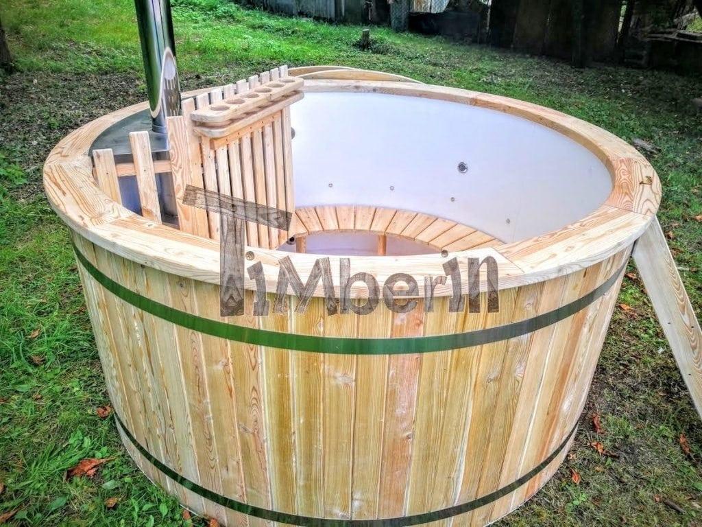 Bain scandinave spa ext rieur 2 led filtration timberin - Vente de jacuzzi exterieur ...