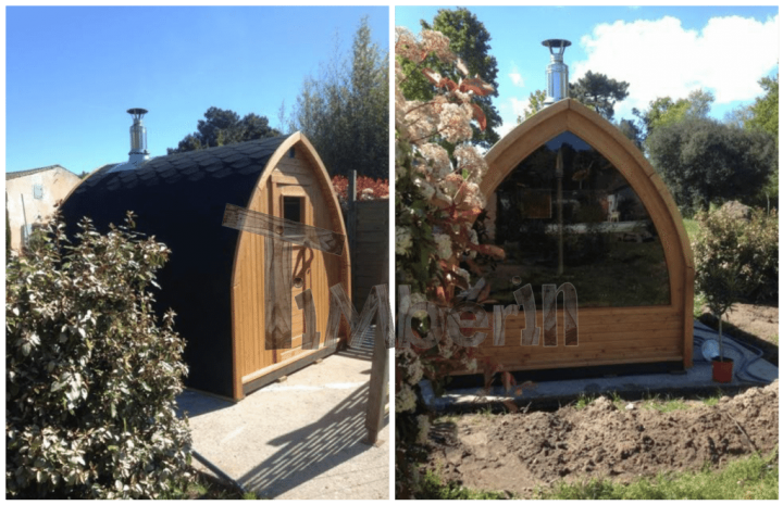 saunas exterieur igloo jean les mathes france 2