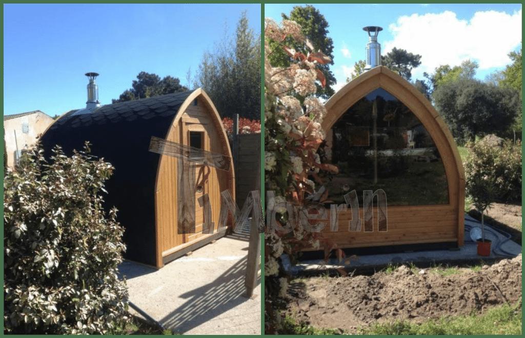 saunas exterieur igloo jean les mathes france 2