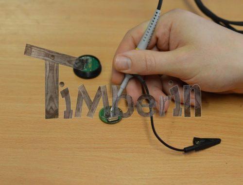 TimberTemp® – Imprimé En 3D Bluetooth Thermomètre TimberIN (1)