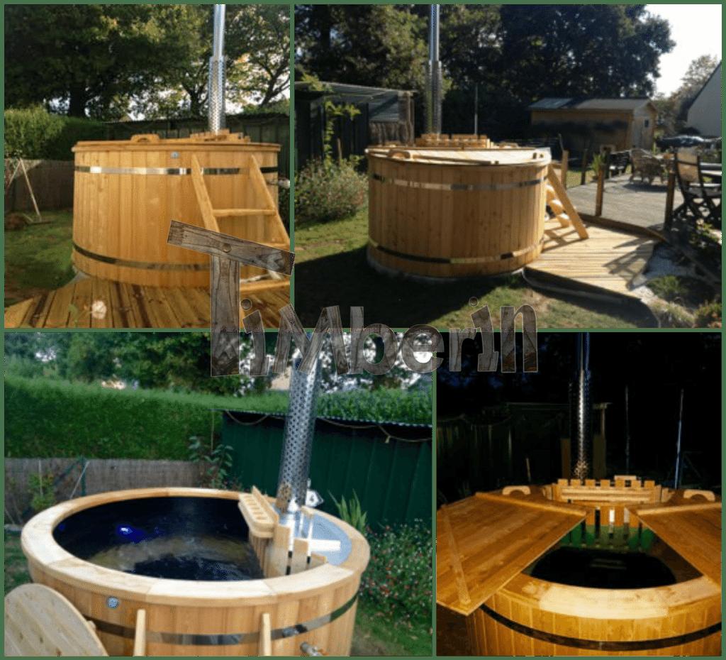 Fabulous voici quelques photos de notre bain qui est bien install notre commentaire bonjour tous - Bain nordique chauffage bois ...