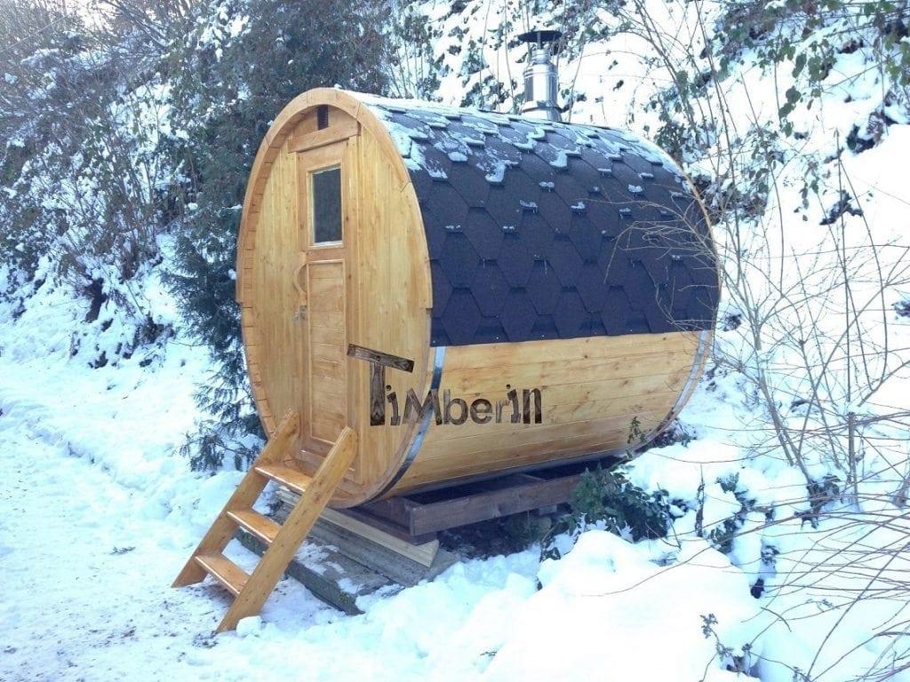 saunas exterieur tonneau olga et serge croix aux mines france