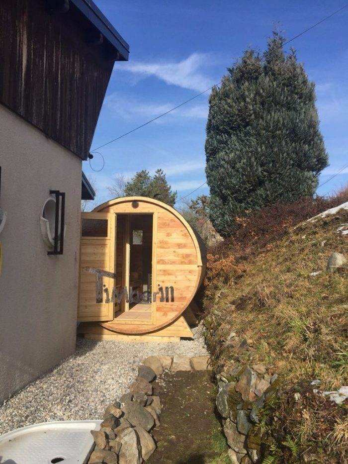 Saunas Extérieur Tonneau, Xavier Gounon, VAULNAVEYS LE BAS, France (3)