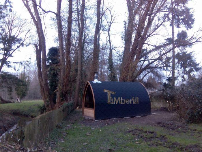 Saunas Extérieur Igloo, Avra Navez, MITTAINILLE, France (2)