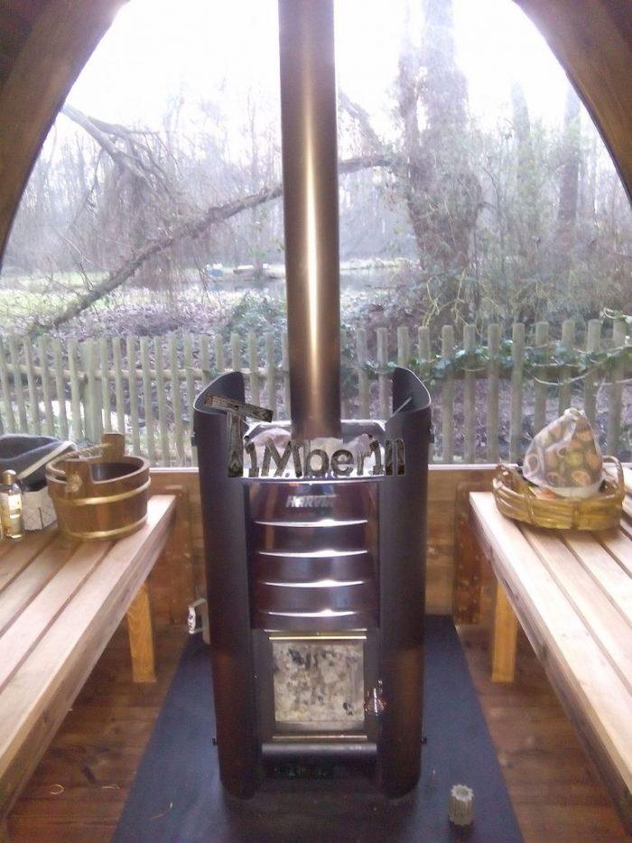 Saunas Extérieur Igloo, Avra Navez, MITTAINILLE, France (3)
