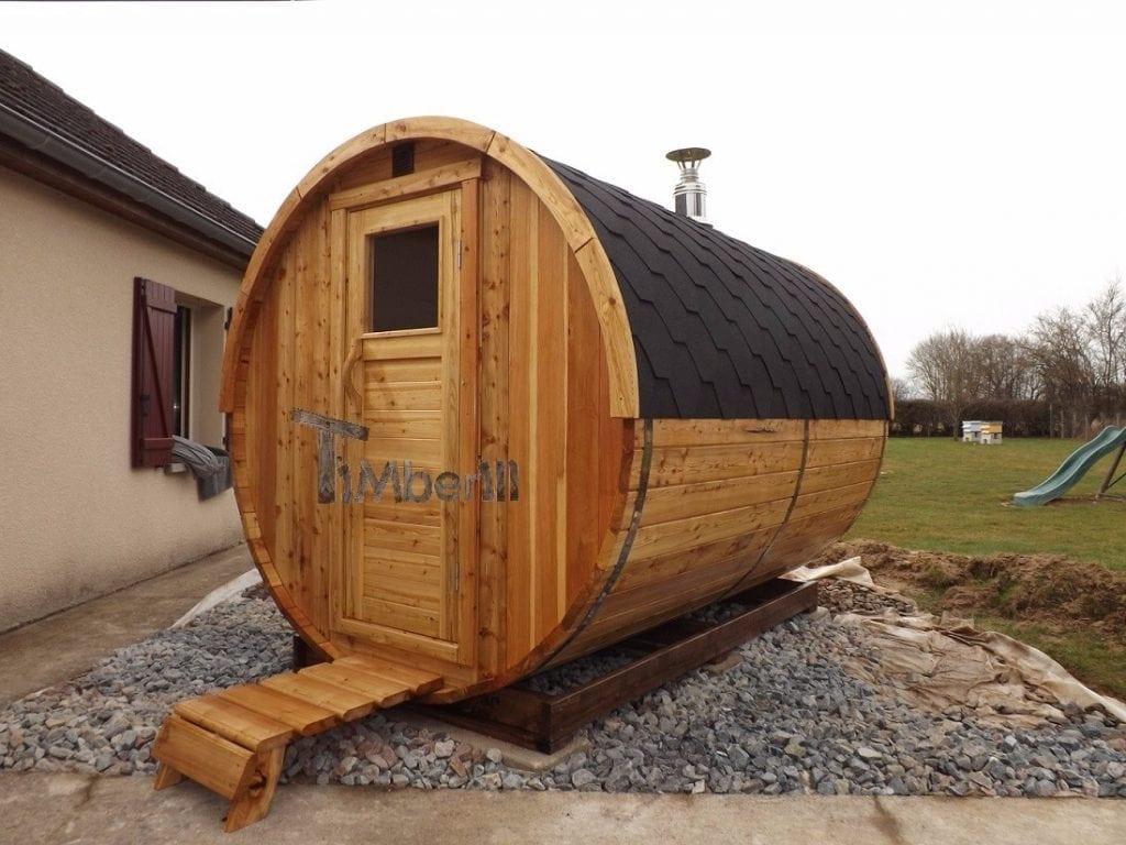 saunas exterieur tonneau frederic bourgogne dracy france 1