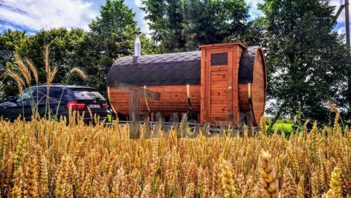 Sauna Extérieur Avec Remorque mobile