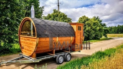 Sauna De Jardin En Bois Mobile