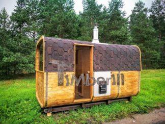 Sauna Extérieur Modèle Rectangulaire été