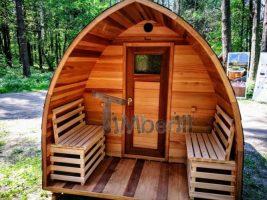 Sauna Extérieur Tonneau Belgique France