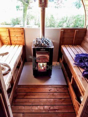 Sauna Extrieur De Jardin  Sauna Tonneau En Bois  Pas Cher Vente