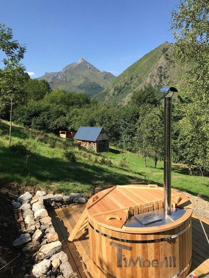 Bain Nordique En Polypropylene Design, Fabien, Sireix, France