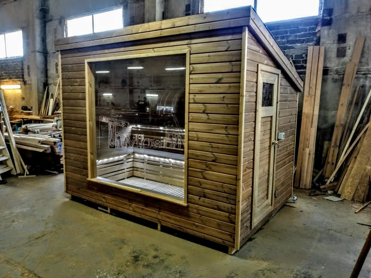 Moderne sauna d 39 ext rieur for Sauna d exterieur