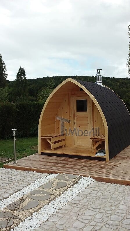 Saunas Extérieur Igloo, Alain, TOURNEVILLE, France (1)