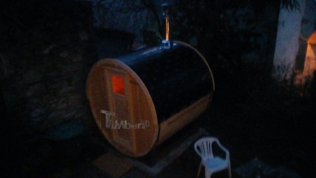 Sauna Extérieur Tonneau Landry SAINT ETIENNE France
