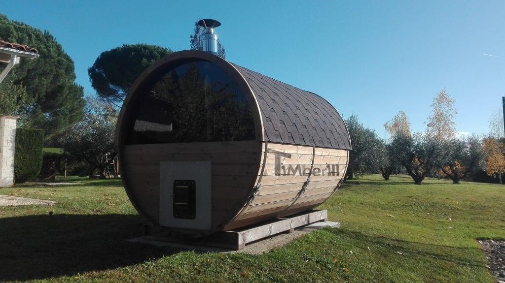Sauna Extérieur Tonneau Alina Meilhan sur Garonne France 1