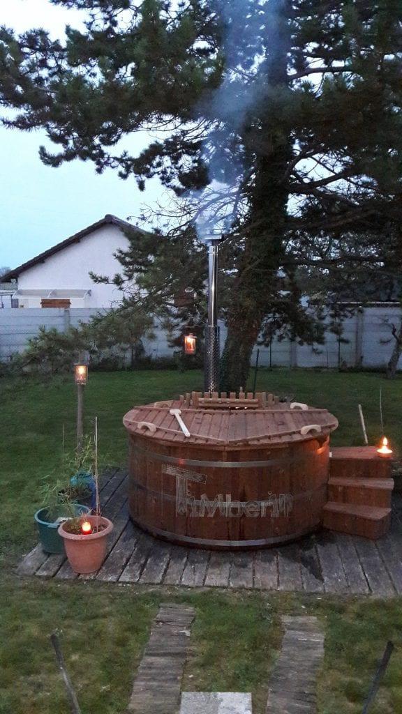 Jacuzzi Extérieur En Thermo Bois Deluxe, Hubert, ROUILLY SAINT LOUP, FRANCE (1)