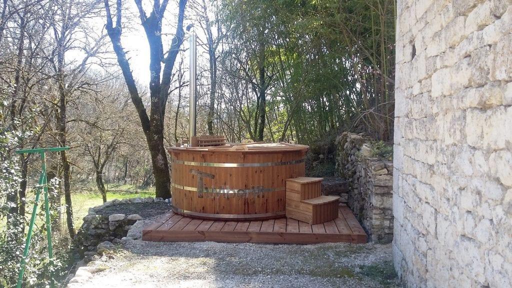 Bain Norvégien en Thermo Bois Basic Valérie MONTCUQ EN QUERCY BLANC France