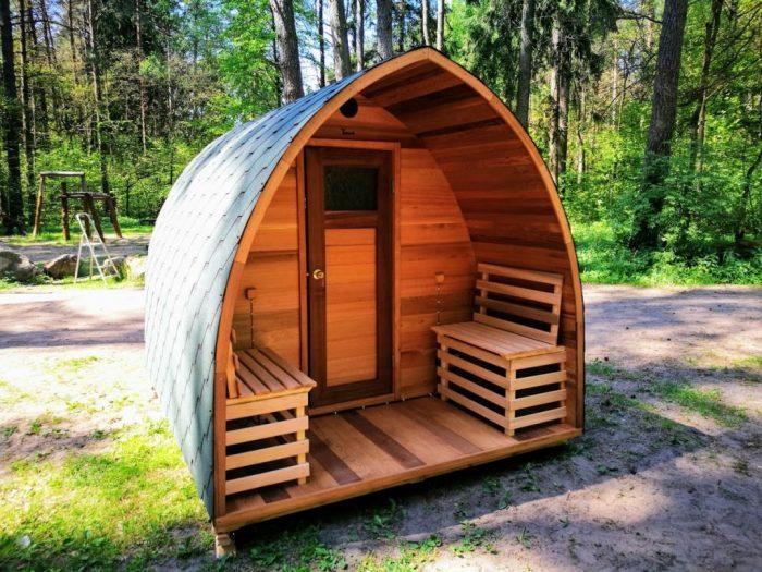 sauna exterieur pas cher