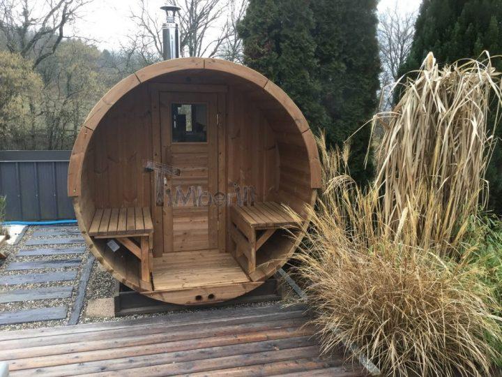 Saunas Extérieur Tonneau, Thierry, CERCIER, France (2)