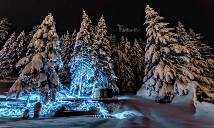 Bain Nordique En Polypropylene (PP) + 2 LED + Filtration, Sylvain, VALFREJUS, FRANCE