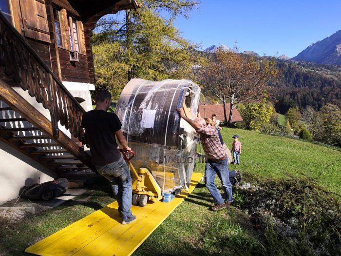 WELLNESS NEULAR INTELLIGENTE Spa Scandinave Aucun Entretien Requis, Antoine, Huémoz, Suisse (3)