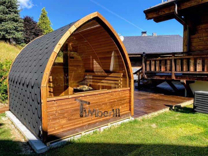 Outdoor Garden Sauna Pod – Iglu (4)