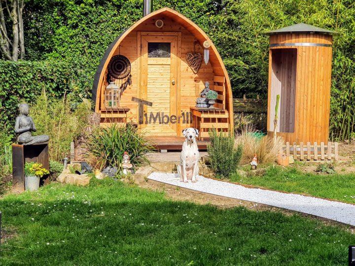 Sauna Extérieur Jardin Iglu, Jean Claude, Freneuse, France