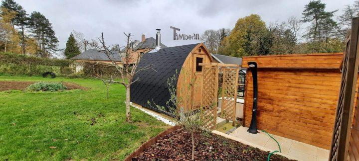 Sauna Extérieur Jardin Iglu, Brigitte, NANTEAU SUR LUNAIN, France (7)