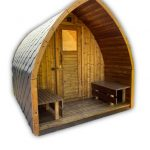 Sauna de jardin bois en kit disponible à vendre France