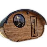 Sauna Extérieur Oval Vente France 4 5 6 Places